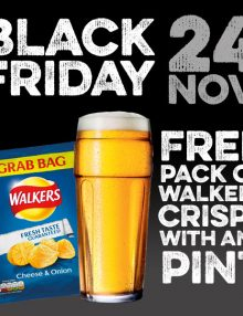Free Crisps for Black Friday!